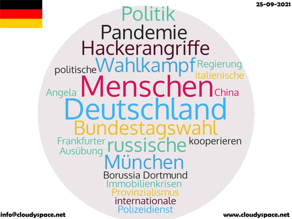 Germany News Day 25 September 2021