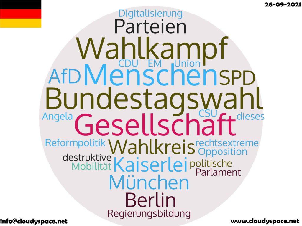 Germany News Day 26 September 2021