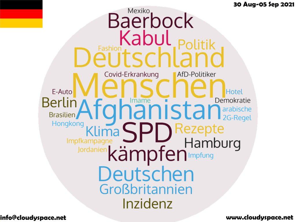 Germany News Week 30 August 2021