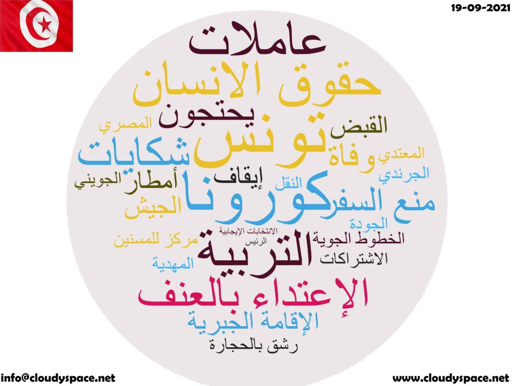 Tunisia News Day 19 September 2021