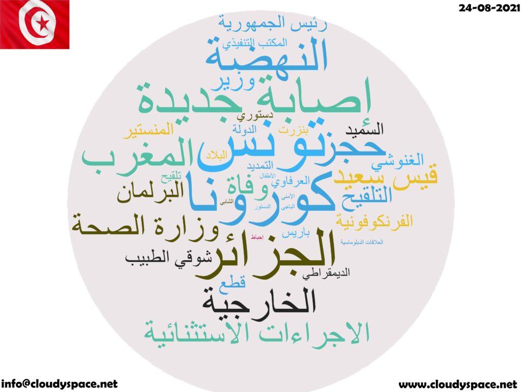Tunisia News Day 24 August 2021