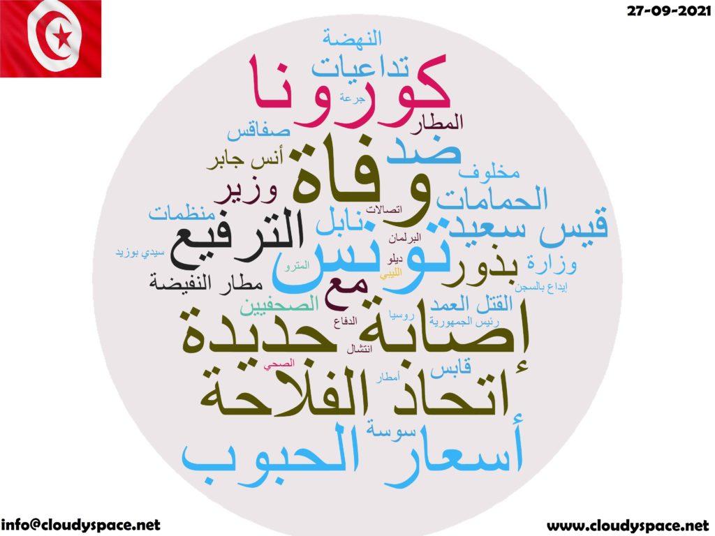 Tunisia News Day 27 September 2021