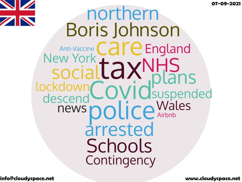 UK News Day 07 September 2021