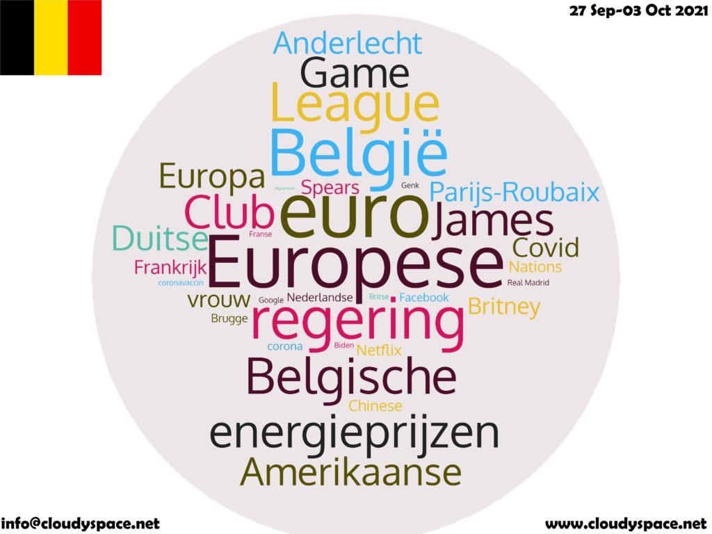 Belgium News Week 27 September 2021