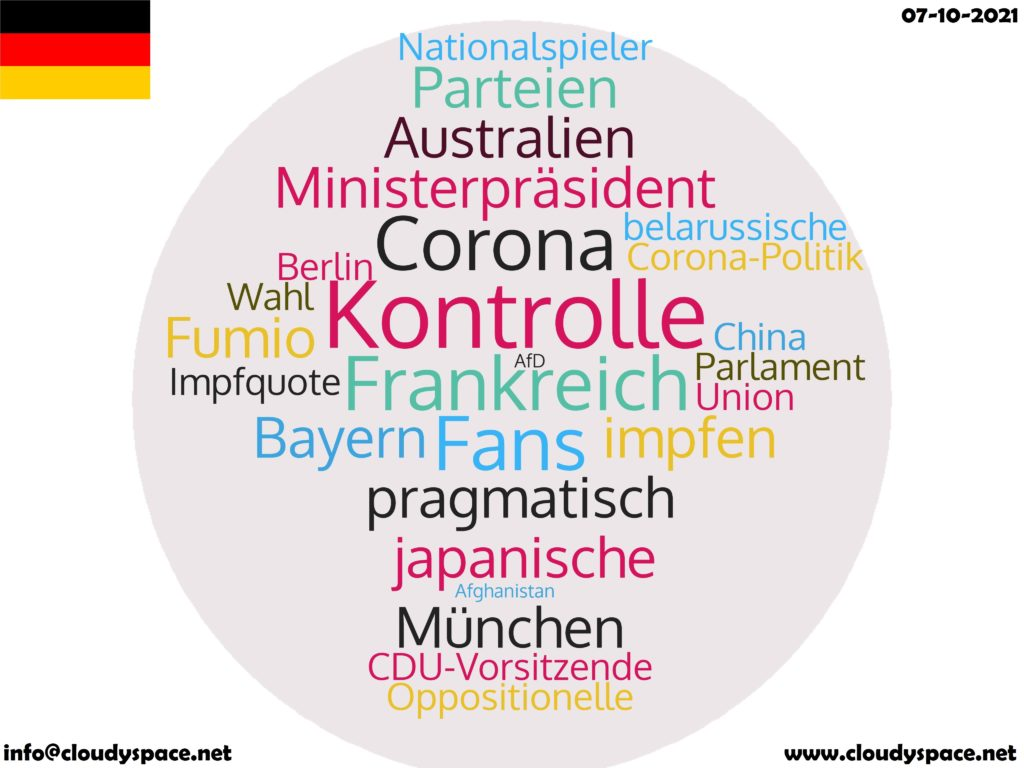 Germany News Day 07 October 2021