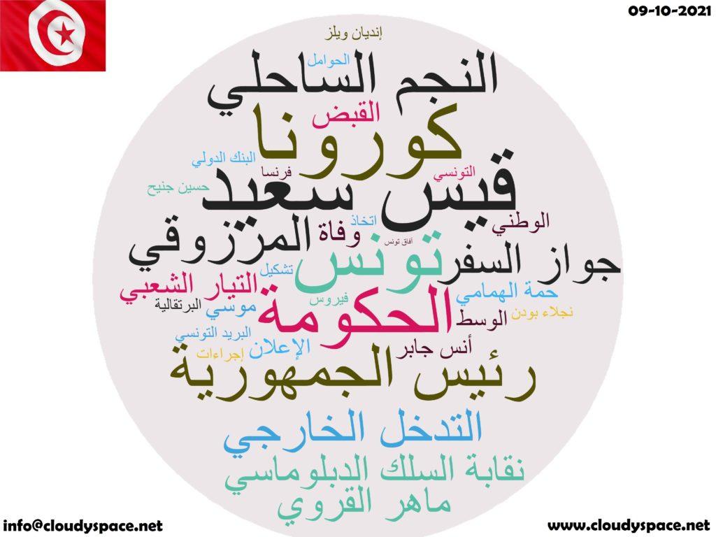 Tunisia News Day 09 October 2021